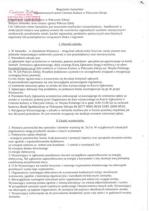 regulamin str. 1