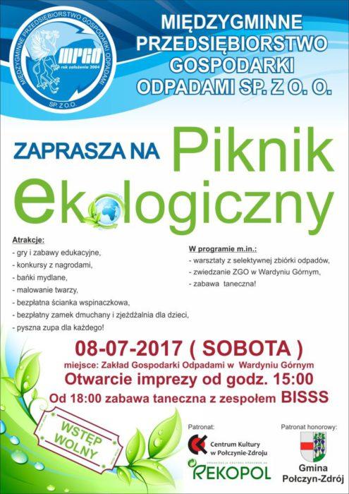 piknik Wardyń Górny - Plakat-i-ulotka