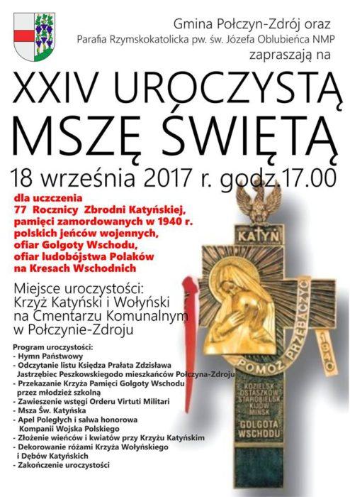 msza katyńska 2017